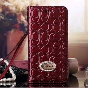 Coach iPhone Wallet Case in Various Sizes